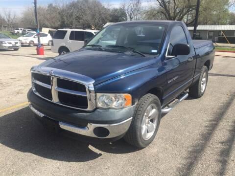 2005 Dodge Ram Pickup 1500 for sale at John 3:16 Motors in San Antonio TX