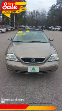 2003 Mercury Sable for sale at Shamrock Auto Brokers, LLC in Belmont NH