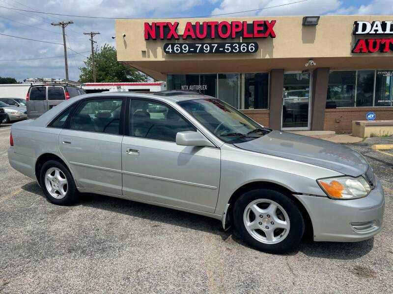 2002 Toyota Avalon for sale at NTX Autoplex in Garland TX