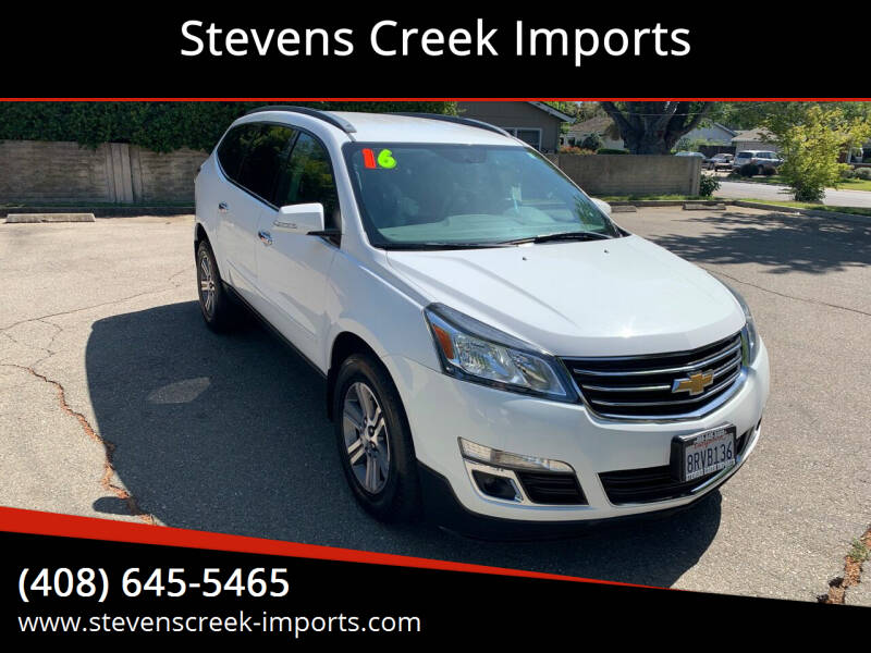 2016 Chevrolet Traverse for sale at Stevens Creek Imports in San Jose CA