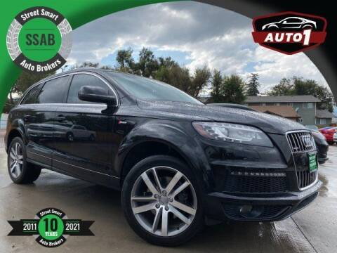 2015 Audi Q7 for sale at Street Smart Auto Brokers in Colorado Springs CO