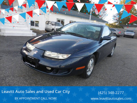 1999 Saturn S-Series for sale at Leavitt Auto Sales and Used Car City in Everett WA