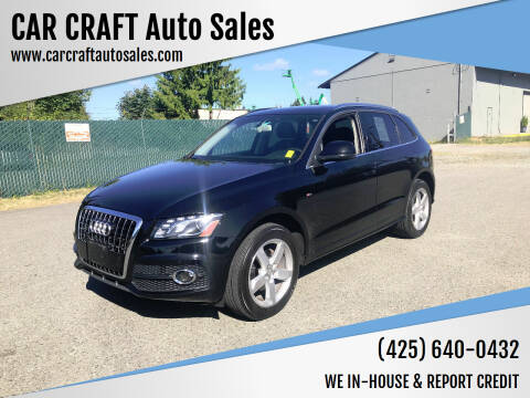 2012 Audi Q5 for sale at Car Craft Auto Sales Inc in Lynnwood WA