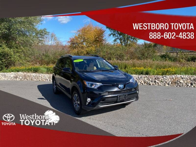 2017 Toyota RAV4 Hybrid for sale in Westborough, MA