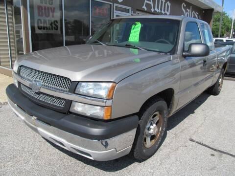 2003 Chevrolet Silverado 1500 for sale at Arko Auto Sales in Eastlake OH
