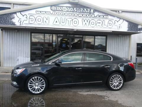 2015 Buick LaCrosse for sale at Don Auto World in Houston TX