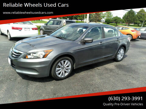 2011 Honda Accord for sale at Reliable Wheels Used Cars in West Chicago IL