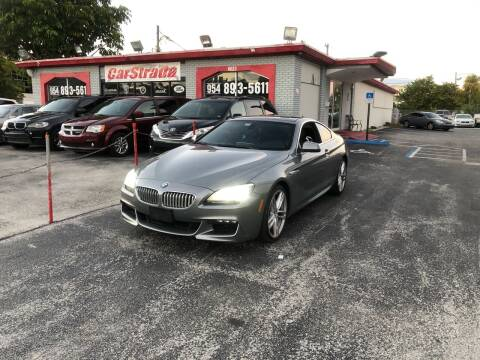 2012 BMW 6 Series for sale at CARSTRADA in Hollywood FL