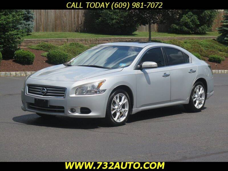 2013 Nissan Maxima for sale at Absolute Auto Solutions in Hamilton NJ