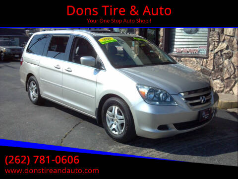 2006 Honda Odyssey for sale at Dons Tire & Auto in Butler WI
