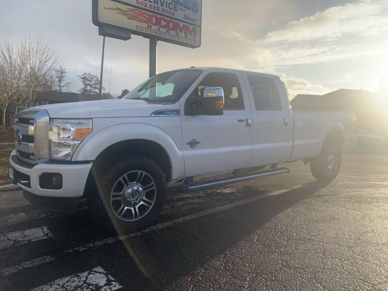 2015 Ford F-250 Super Duty for sale at South Commercial Auto Sales in Salem OR