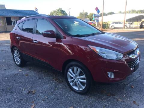 2010 Hyundai Tucson for sale at Cherry Motors in Greenville SC