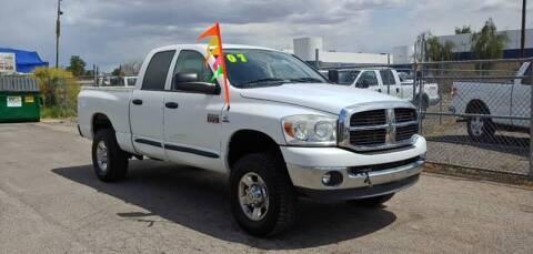 2007 Dodge Ram Pickup 2500 for sale at Advantage Motorsports Plus in Phoenix AZ