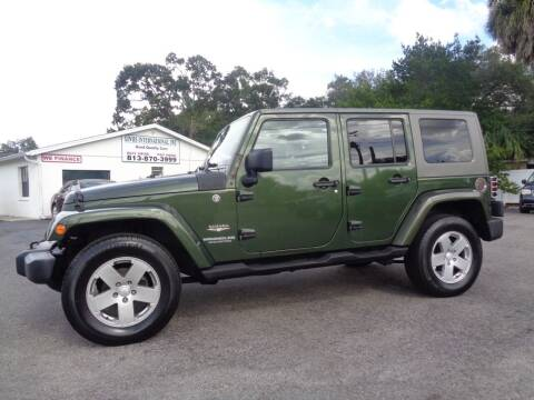 2008 Jeep Wrangler Unlimited for sale at Linus International Inc in Tampa FL