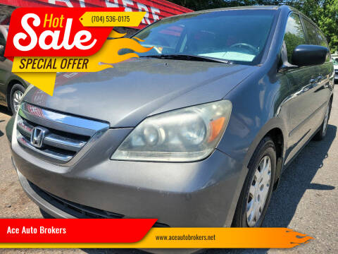 2007 Honda Odyssey for sale at Ace Auto Brokers in Charlotte NC