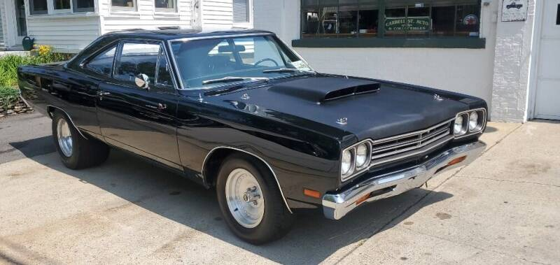 1969 Plymouth Roadrunner for sale at Carroll Street Auto in Manchester NH
