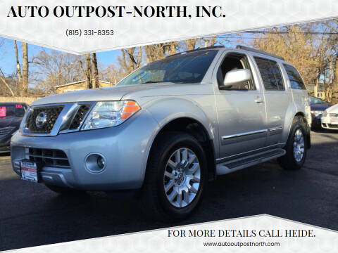 2010 Nissan Pathfinder for sale at Auto Outpost-North, Inc. in McHenry IL