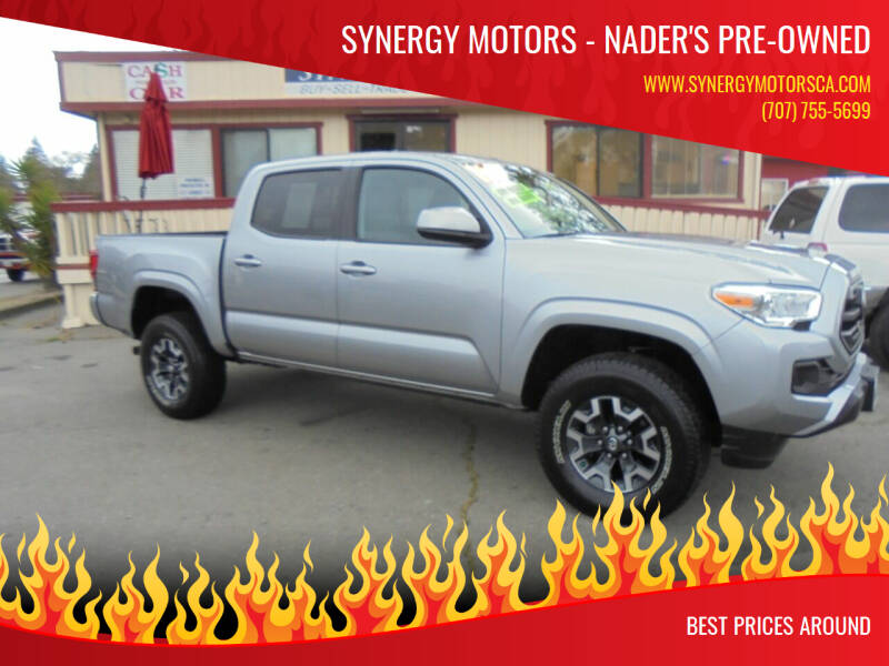 2019 Toyota Tacoma for sale at Synergy Motors - Nader's Pre-owned in Santa Rosa CA