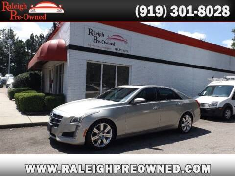 2014 Cadillac CTS for sale at Raleigh Pre-Owned in Raleigh NC