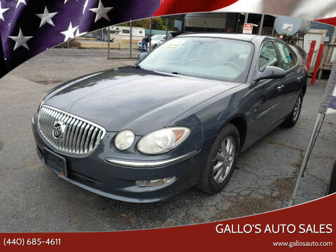 2009 Buick LaCrosse for sale at Gallo's Auto Sales in North Bloomfield OH