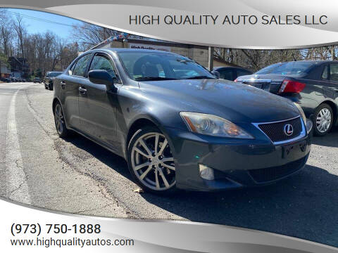 2008 Lexus IS 250 for sale at High Quality Auto Sales LLC in Bloomingdale NJ