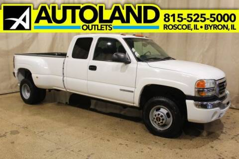 2004 GMC Sierra 3500 for sale at AutoLand Outlets Inc in Roscoe IL
