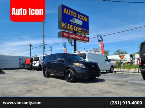 2014 Ford Explorer for sale at Auto Icon in Houston TX