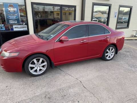 2004 Acura TSX for sale at Suzuki of Tulsa - Global car Sales in Tulsa OK
