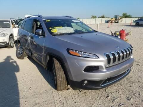 2017 Jeep Cherokee for sale at Varco Motors LLC - Builders in Denison KS