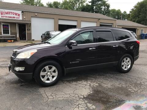 2009 Chevrolet Traverse for sale at Jim's Hometown Auto Sales LLC in Byesville OH