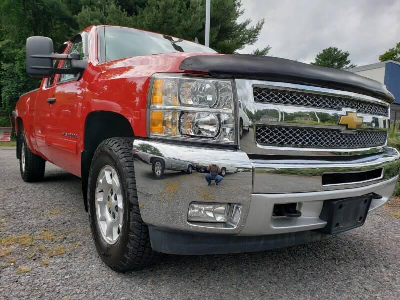 2012 Chevrolet Silverado 1500 for sale at Jacob's Auto Sales Inc in West Bridgewater MA
