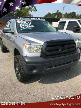 2012 Toyota Tundra for sale at Bay City Auto's in Mobile AL