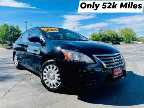 2015 Nissan Sentra for sale at Bargain Auto Sales LLC in Garden City ID
