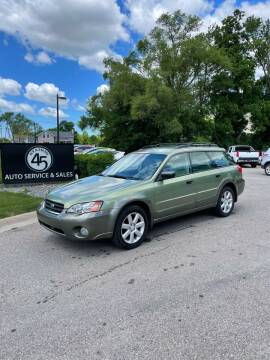 2007 Subaru Outback for sale at Station 45 Auto Sales Inc in Allendale MI