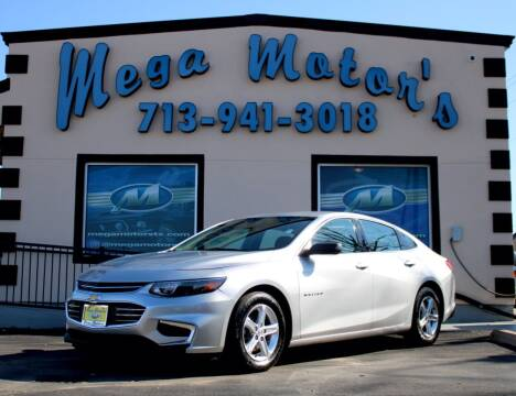 2017 Chevrolet Malibu for sale at MEGA MOTORS in South Houston TX