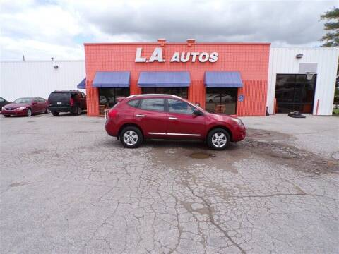 2014 Nissan Rogue Select for sale at L A AUTOS in Omaha NE