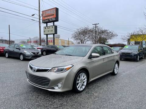 2013 Toyota Avalon for sale at Autohaus of Greensboro in Greensboro NC