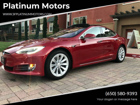 2017 Tesla Model S for sale at Platinum Motors in San Bruno CA