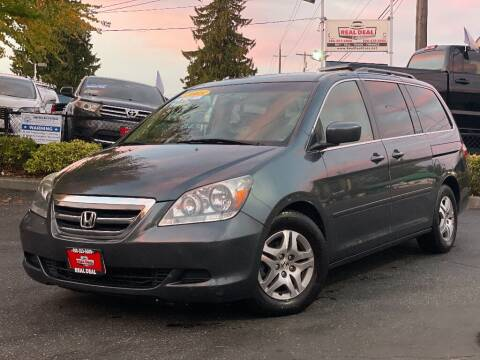 2005 Honda Odyssey for sale at Real Deal Cars in Everett WA