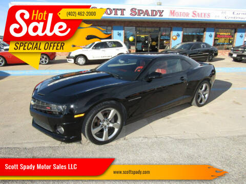 2010 Chevrolet Camaro for sale at Scott Spady Motor Sales LLC in Hastings NE
