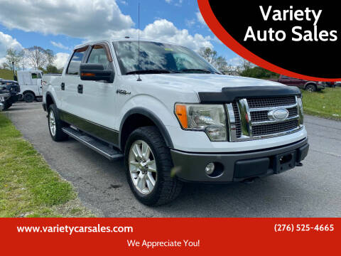 2009 Ford F-150 for sale at Variety Auto Sales in Abingdon VA