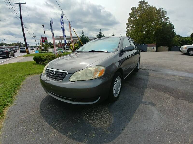 2006 Toyota Corolla for sale at Regional Auto Sales in Madison Heights VA