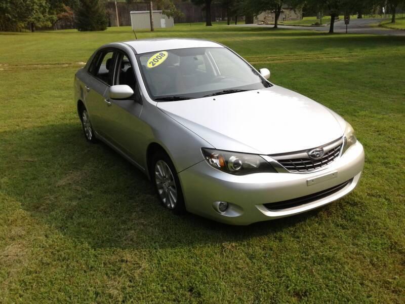 2008 Subaru Impreza for sale at ELIAS AUTO SALES in Allentown PA