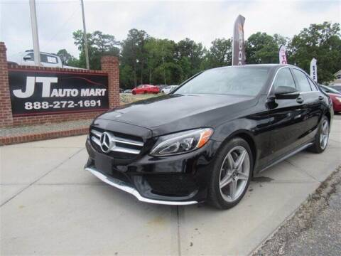 2018 Mercedes-Benz C-Class for sale at J T Auto Group in Sanford NC