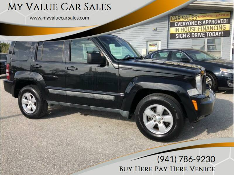 2011 Jeep Liberty for sale at My Value Car Sales - Upcoming Cars in Venice FL