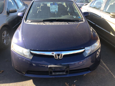 2008 Honda Civic for sale at Whiting Motors in Plainville CT