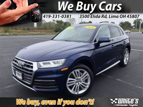 2018 Audi Q5 for sale at White's Honda Toyota of Lima in Lima OH