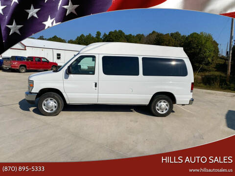 2008 Ford E-Series Wagon for sale at Hills Auto Sales in Salem AR