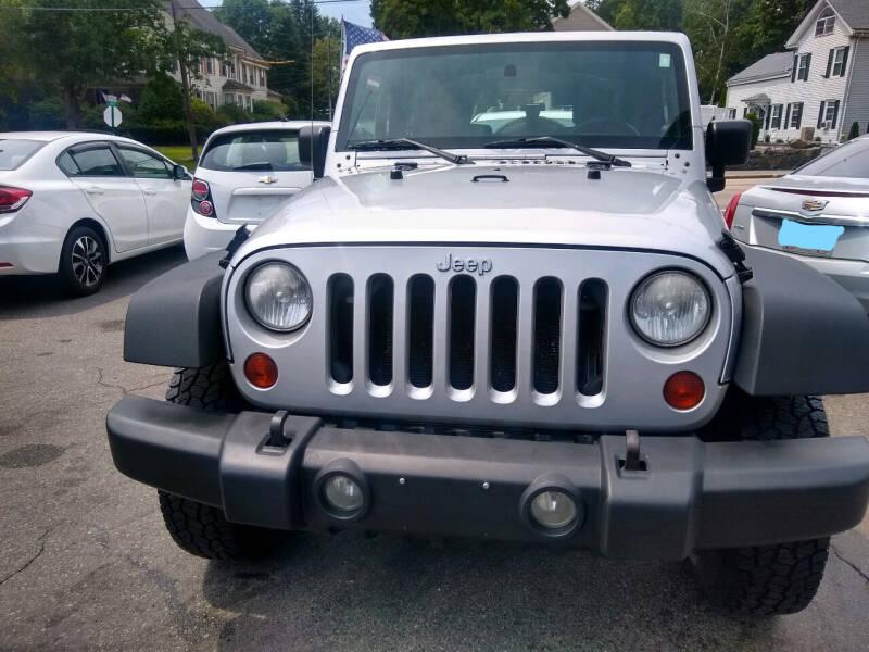2010 Jeep Wrangler for sale at Washington Street Auto Sales in Canton MA