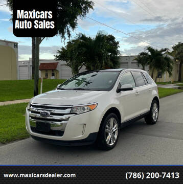 2013 Ford Edge for sale at Maxicars Auto Sales in West Park FL